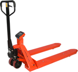 Weight scale hand pallet trucks, many options